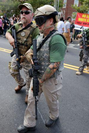Demonstration i Virginia, USA