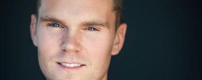 porträtt av skådespelaren och regissören Gudjon Ragnarsson