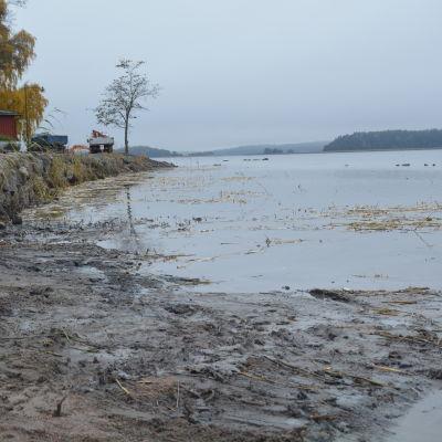 Vassbekämpning i Ekenäs, vid Västvallen.