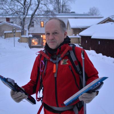Långfärdsskridskoåkare Jöns Aschan.