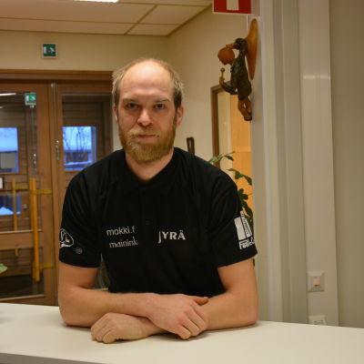 Linus Boström i Sportmåndag 25.1.2016.