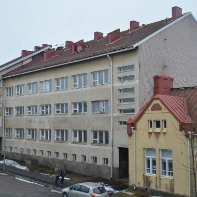 Mau-Mau och Signellska huset.