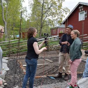 Trädgårdskväll på Strömsö 2017.