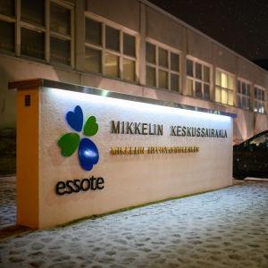 Mikkelin keskussairaala.