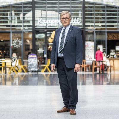 Osuuskauppa Suur-Savon toimitusjohtaja Ari Miettinen