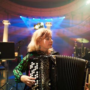 Maria Kalaniemi porträtteras i Nästan unplugged