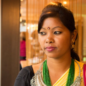 Swastika Chaudhary, 21, var i fem års tid kamalari (husslav) i Nepal.
