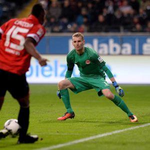 Lukas Hradecky var i toppform mot Mainz.