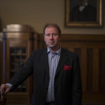 Mikael Jakobsson, stadsdirektör i Jakobstad