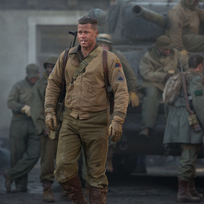 Brad Pitt i filmen The Fury.