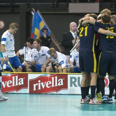 Finland och Sverige möttes i VM-finalen 2012.