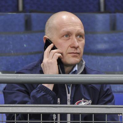 Jarmo Kekäläinen är General Manager för Columbus Blue Jackets.