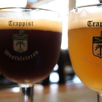 Belgiskt öl i stop