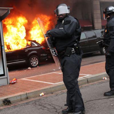 Demonstration i Washington.