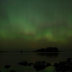 Norrsken i Skogsnäset, Hangö.