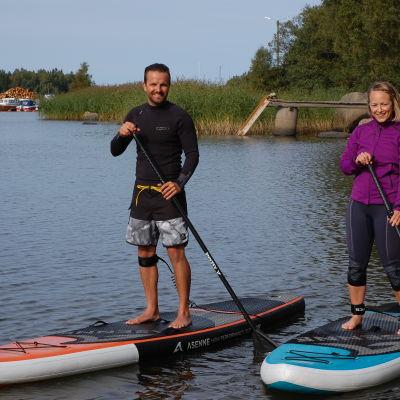 Mathias Granfors och Elin Skagersten-Ström