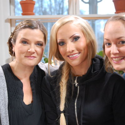 Camilla Forsén-Ström, Camilla Back och Elin Skagersten-Ström