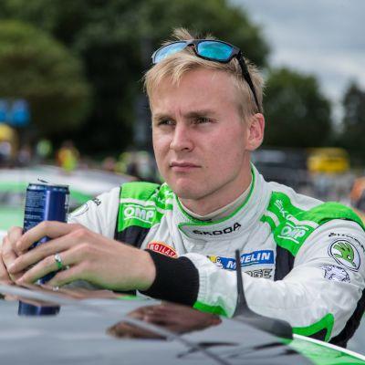 Esapekka Lappi var framför allt nöjd med lördagens prestation i det tyska VM-rallyt.