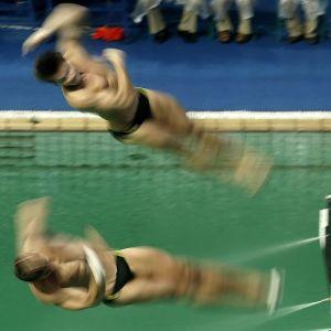 Stephan feck och Patrick Hausding dyker i Rio.