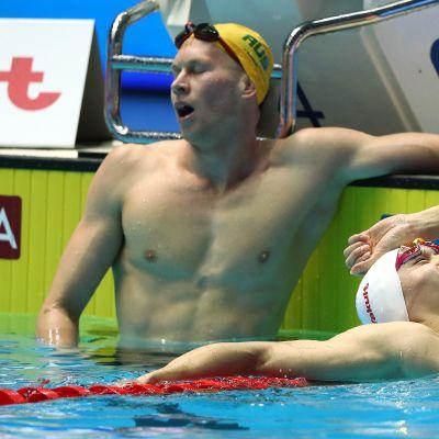 Sun Yang otti dramaattisesti toisen MM-kultansa – liettualaisvoittaja diskattiin