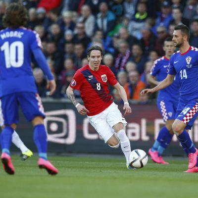 Kroatien mot Norge
