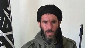 Jihadistledaren Mokhtar Belmokhtar.