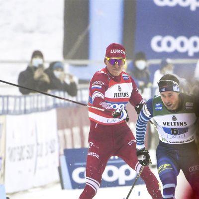 Aleksandr Bolsjunov tappade fattningen på upploppet.
