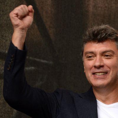 Den ryska oppositionspolitkern Boris Nemtsov.