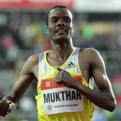 Muktar Edris, etiopisk löpare.