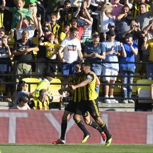 Watford firar mål.