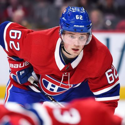 Artturi Lehkonen spelar ishockey för Montreal.