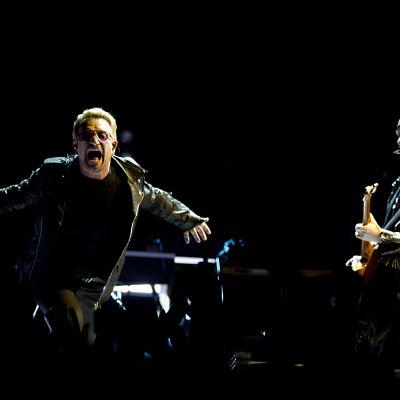 U2-konsert i Amsterdam den 8 september 2015.