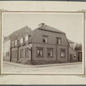 Huset där Snellman föddes i Stockholm.