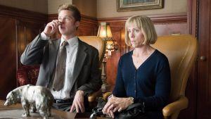 Brad Pitt ja Frances McDormand elokuvassa Burn After Reading