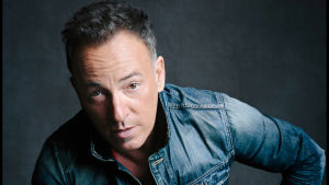 Bruce Springsteen vuonna 2016. Promokuva musiikkidokumentista Bruce Springsteen omin sanoin.