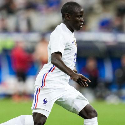 N'Golo Kanté i landskamp 2021.