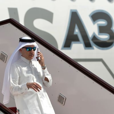 Akbar al-Baker, vd för Qatar Airways