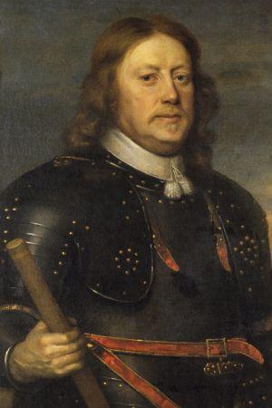 Porträtt av Per Brahe d.y. gjort av David Beck ca 1650. Finns i Skoklosters slott.