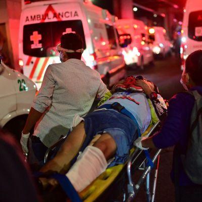 Olycka i Mexiko