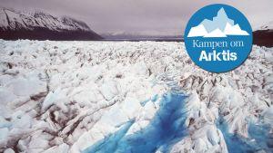 Klimatförändringen ett hot mot Arktisområdet.