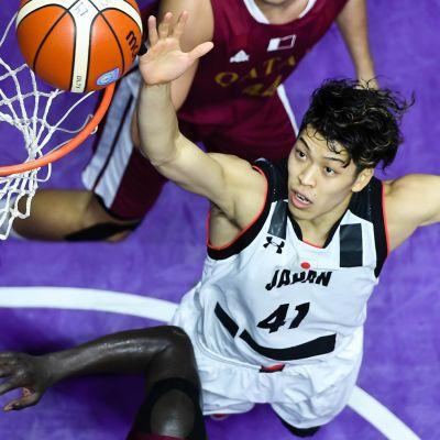 Takuma Sato i farten för Japan.