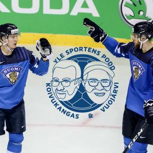 Lejonen i fokus i Yle Sportens podd.