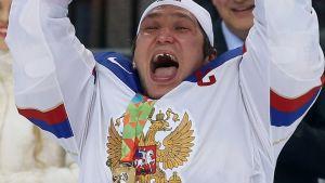 Venäjä voittaa kultaa jääkiekossa