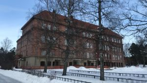 Nedlagda Ristikari skola i Jakobstad.