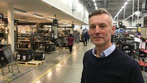VD Tom Nordström vid Herrmans