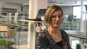 Utbildningschef Jennie Elfving vid yrkeshögskolan Centria i Karleby
