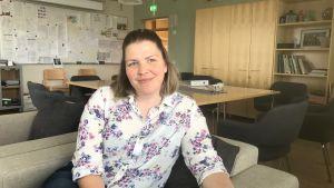 Therese Granvik är lärare i historia och samhällslära vid Jakobstads gymnasium