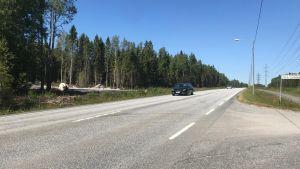 Omfarstvägen runt Jakobstad vid Fårholmen