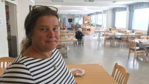 Carina Kackur är föreståndare på det föreningsdrivna Mariahemmet i Jakobstad