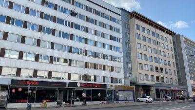 Bild av fasaden till Eriksgatan 20 i Åbo.